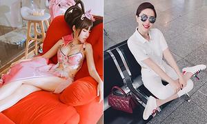 Sao Việt 17/7: Elly Trần khoe dáng nuột khi ngủ quên, Bảo Thy ngồi bá đạo