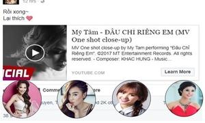 Sao Việt cũng cuồng 'Đâu chỉ riêng em' của Mỹ Tâm