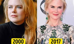 Nữ thần Hollywood thay đổi nhan sắc thế nào trong gần 2 thập kỷ