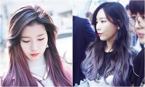 Dàn visual hot nhất Kpop chuộng tóc tím sang chảnh