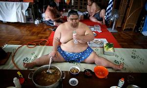 Cuộc sống khắc nghiệt trong một lò luyện sumo ở Nhật
