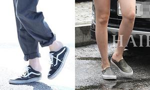 Cách đi giày ngang... phá hoại của dàn sao Hàn