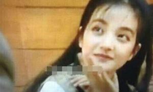 Triệu Vy năm 16 tuổi đã rất xinh đẹp