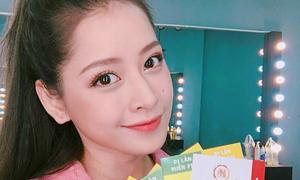 Chi Pu, Noo Phước Thịnh đăng Facebook tặng fan quà siêu dễ thương