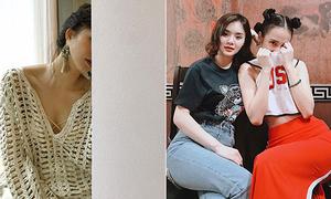 Sao Việt 27/7: Sa Lim ví mình với 'bức tường', chị em Phương Trinh đọ vòng 3
