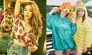 Sao Hàn 28/7: Tiffany khoe dáng gợi cảm, Dara kết đôi CL đi chơi