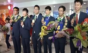 5 'chàng trai vàng' Olympic Quốc tế nhập học ĐH Bách khoa Hà Nội