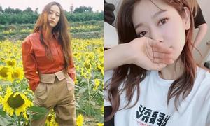 Sao Hàn 29/7: Park Shin Hye da trắng mịn, Krystal tạo dáng cool ngầu