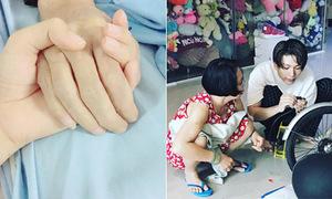 Sao Việt 30/7: Phạm Hương vĩnh biệt bố, Kelvin Khánh thân thiết với 'mẹ vợ'