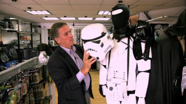 Laurie Goode bên trang phục Stormtrooper.
