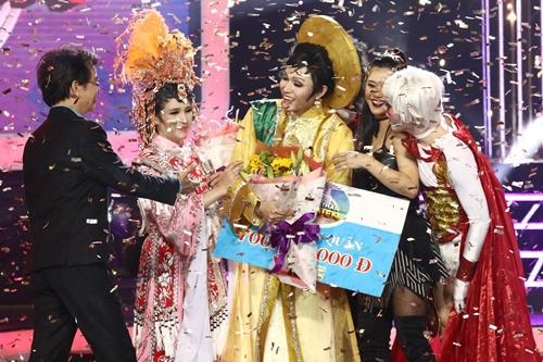 Ca sĩ trở thành quán quân với giải thưởng 700 triệu đồng.