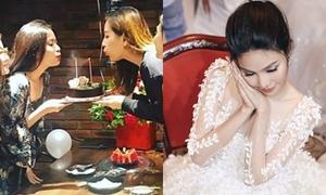 Sao Việt 6/8: Hoàng Thùy Linh đón sinh nhật sớm; Lan Khuê e ấp như dâu mới