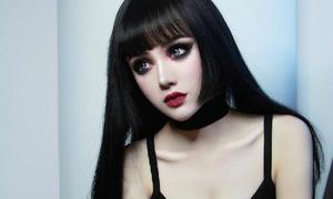 'Chết mê' vì gương mặt đẹp tựa búp bê của hot girl Trung Quốc