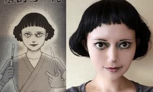 Cô gái makeup xong không ai dám nhìn vì quá đáng sợ