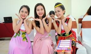 Girl xinh miền Trung đua nhau khoe tài sắc tại Miss Teen 2017