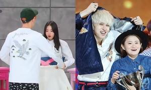 Những sao nam Hàn ga lăng, sẵn sàng cởi áo che chắn cho đồng nghiệp nữ