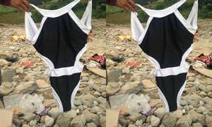 Ủng hộ bikini cho đồng bào vùng lũ gây tranh cãi