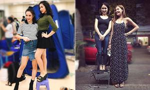 Người người khoe chân dài, Hòa Minzy lại thích chứng minh mình 'chân ngắn'