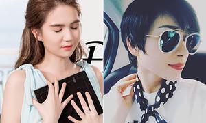 Sao Việt 10/8: Ngọc Trinh photoshop nước mắt, Ngô Thanh Vân cắt phăng tóc dài