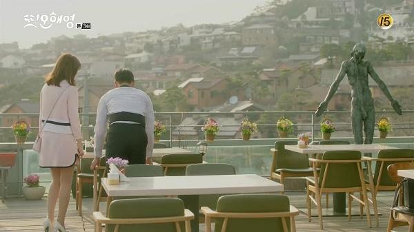 Một nhà hàng trong bộ phim Lại là em, Oh Hae Young.