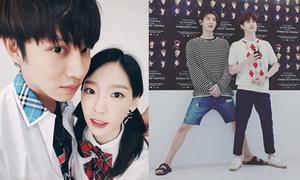 Sao Hàn 12/8: Chan Yeol 'dìm' chiều cao Su Ho, Hee Chul ôm Tae Yeon thân mật