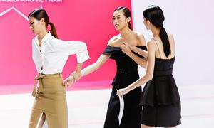 Cao Thiên Trang cãi giám khảo Next Top 'chem chẻm', đòi bỏ thi