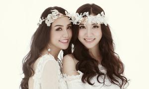 Hương Baby - Hạnh Sino gợi cảm trong bộ ảnh kỷ niệm tình bạn 20 năm