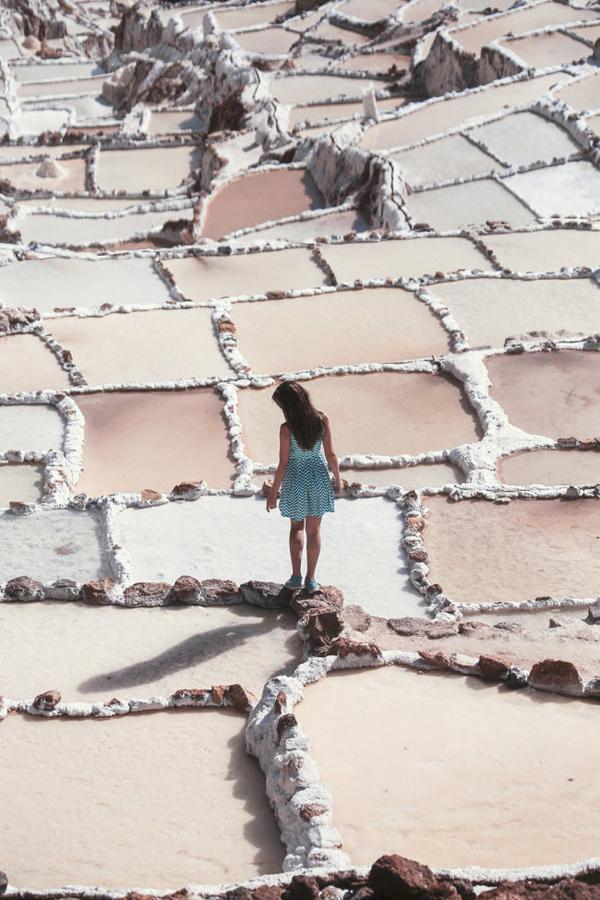 <p> Mỗi hồ muối là của một gia đình khác nhau, rộng khoảng 4m2.</p>