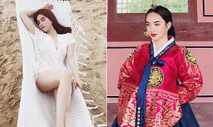 Sao Việt 14/8: Ngọc Trinh tâng bốc chính mình, Kaity Nguyễn xinh hơn gái Hàn