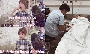 Sao Việt 18/8: Hari Won ăn không ngại xấu, Phương Trinh sốt xuất huyết mê man