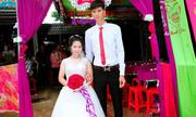 Đám cưới của chàng cao 1m83 và nàng 1m39 gây sốt