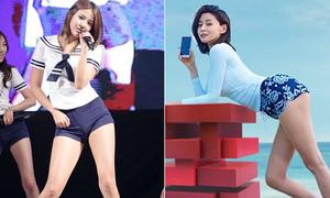 8 idol có đôi chân dài 'chuẩn mẫu' nhất Kpop