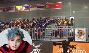 BTC SEA Games bật nhạc Sơn Tùng ăn mừng Việt Nam có HCV