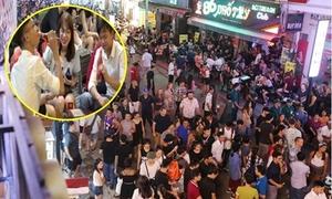 Giới trẻ Sài Gòn ùa ra phố đi bộ Bùi Viện trong ngày đầu mở cửa