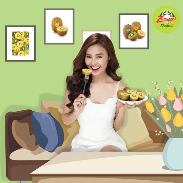 Hãy thử ăn quả kiwi mỗi buổi sáng để cảm nhận một sức sống cùng Lan Ngọc nhé!