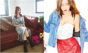 Sao Hàn 22/8: Yoon Ah tạo dáng như ảnh chụp trộm, Jessica hững hờ vòng 1