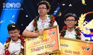'Cậu bé Google' Phan Đăng Nhật Minh vô địch Olympia 17