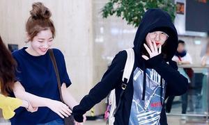3 girl group đình đám nhất Kpop khoe style cá tính ở sân bay