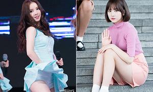 10 bộ cánh 'ngắn đến đỏ mặt' của Eun Ha G-Friend