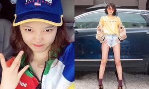 Sao Hàn 29/8: Soo Young - Yoon Ah đọ chân đẹp, Yoo Jung mặt mụn vẫn xinh