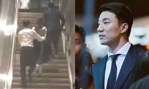 Vệ sĩ điển trai của Jessica gây sốt với hành động lịch thiệp như phim Hàn