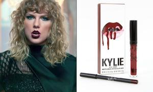 Làm MV 'trả thù' nhà Kardashian nhưng Taylor lại tô son... Kylie