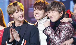Những nhóm bạn thân đình đám của Kpop