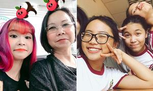 Sao Việt 31/8: Khởi My rủ mẹ nhí nhố, Phương Mỹ Chi chứng minh chưa 'bỏ học'
