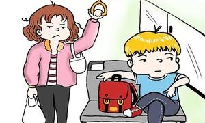 5 kiểu người 'trời ơi' hiện diện trên xe bus