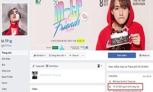 'Cuộc chiến' ngôi vương fanpage triệu like của sao Vbiz hoán đổi liên tục