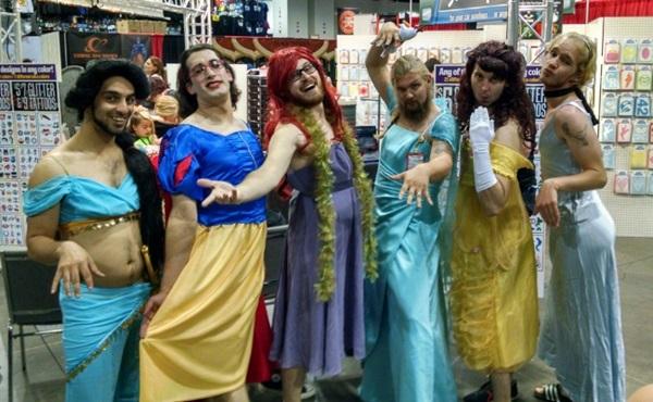 6 nàng công chúa Disney