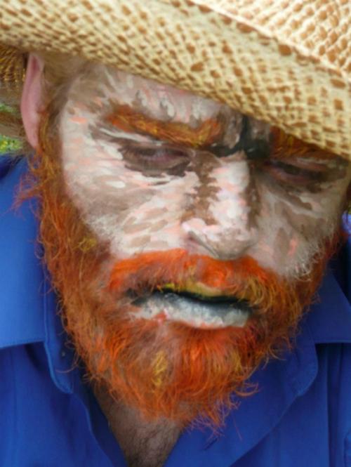Ông già trong tranh Van Gogh