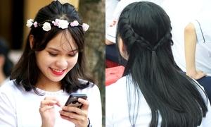Muôn kiểu tết tóc xinh yêu dự khai giảng của teen girl