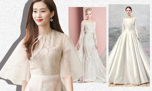 Hoa hậu Thu Thảo mặc váy cưới thế nào là đẹp nhất?